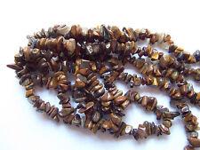 50pz  perline in pietra chips  in vetro occhi di tigre 5-10mm bijoux