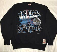 Vintage 1999 Nutmeg Florida Panthers Hockey NHL Sweatshirt Size Large EUC