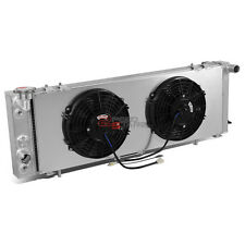 3-ROW FULL ALUMINUM RADIATOR+12V FAN SHROUD FOR 91-01 CHEROKEE/COMMANCHE I4/I6