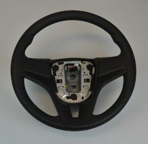 2011-2014 NEW OEM Chevy Chevrolet Cruze Steering Wheel Vinyl Jet Black Hand Grip