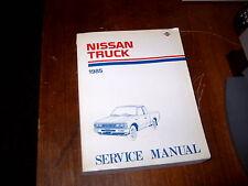 Service Manual Nissan Truck 1985
