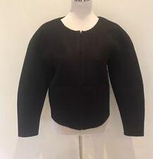 PORTMANS Ladies Black Casual Jacket Top Zip Through Women's Size 10