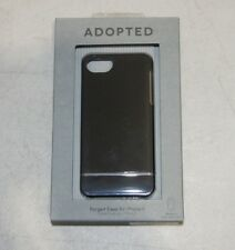Adopted Forged Case for iPhone 5 - Black/Silver