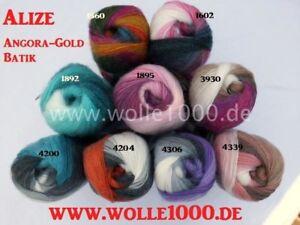 Neu 100g Alize Angora Gold Batik - toller Farbverlauf (Grundpreis 2,99€/100g)
