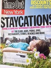 TimeOut New York Magazine Staycations August 13, 2009 090217nonrh