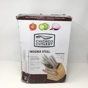 Chicago Cutlery Insignia Stainless Steel 18-Piece Knife Block Set