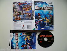 NINTENDO WII PAL GAME BATTLE OF THE BANDS TESTED