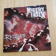 Misery Index Retaliate promo CD Dying Fetus Great Depression Death Metal Grind
