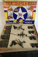 Midgies Complete Minature Mobile Army; Jaymar Specialty Co. 14-piece Complete!