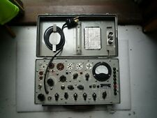 VALE TUBE TESTER TEST SET ELECTRON TUBE TV-7A/U USA MILITARY L@@K