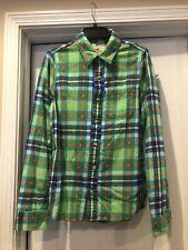Hollister~Women's Size Medium~Flannel Shirt Soft Cotton Plaid ~ Excellent Preown