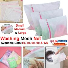 Zipped Laundry Washing Mesh Net Clothes Bra Sox Underwear Machine Wash Bags Lots