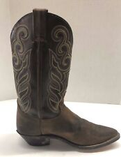 Double H Womens Buckaroo Boots Old Town DH5211 Size 9 M Brown  Western Rodeo