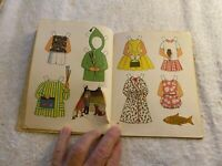 Vintage Little Golden Book Betsy McCall A Paper Doll Story Book 1965 First Ed.