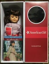 "RETIRED AMERICAN GIRL SAMANTHA 18"" DOLL AND BOOK RETIRED"