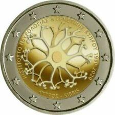Cyprus 2020  2 euro comm. Neurologie en Genetics  UNC uit de rol - rouleaux !!!