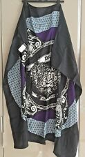 DKNY 100% silk scarf shawl very large square NEW with tags
