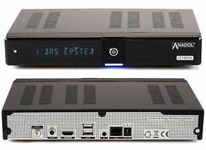 ANADOL IZYBOX 4K Sat Receiver 2160P - DVB-S2X Tuner, Multistream,UHD, Cardreader