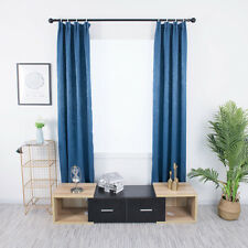 Solid Color Blackout Curtains Bedroom Living Room Kitchen Modern Curtain Q