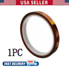 8mm X 100ft 3d Sublimation Kapton Tape Heat Proof Tape For Heat Transfer Print