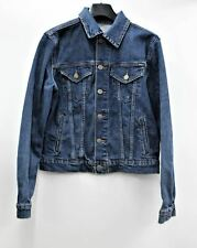 RALPH LAUREN Boys Polo Cotton Blue Denim Long Sleeve Jacket Size 14-16 Years