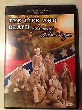 "NEW DVD ""Life & Death of the Army of Northern Virginia"" CSA reenacting Civil War"