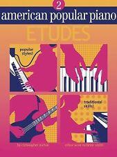 American Popular Piano : Level Two - Etudes by Scott McBride Smith
