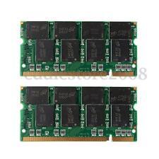 2GB 2x1G PC2700 DDR 333Mhz Non-ECC 200 Pin DIMM Laptop Desktop PC Memory RAM