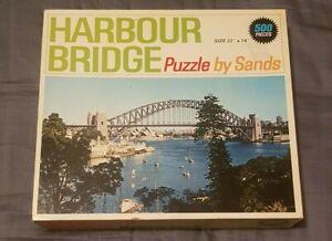 🔶️VINTAGE SYDNEY HARBOUR BRIDGE 500 PIECE JIGSAW PUZZLE lavender bay barangaroo