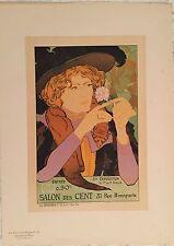 """DE FEURE GEORGES """"LE SALON DES CENT"""" 1894"""
