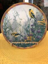 Lenox Decorative Plate Golden Splendor From The Nature'S Collage Collection