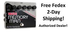 New Electro-Harmonix EHX Deluxe Memory Man Delay Guitar Effect Pedal