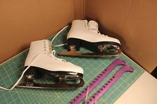 American size 7 Usa/ 38 Euro womens figure ice skates Vgc #9062