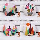 """18"""" Circular Pillow Cover Home Decor Car Bed Sofa Throw Waist Cushion Pillowcase"""