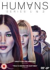 Humans: Series 1 & 2 DVD (2017) Colin Morgan ***NEW***