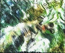 New Listing Green Passion. Original fine art print. Signed.