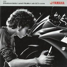 Prospekt 2008 Yamaha WR450F XJR1300 PW50 Cygnus R1 R6 Majesty  X-max Fazer MT-03