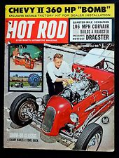 HOT ROD MAGAZINE - MARCH 1962 - 106mph Corvair