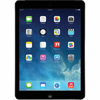 "Apple iPad Air 9.7"" Tablet 128GB WiFi + AT&T 4G LTE (Space Gray)"