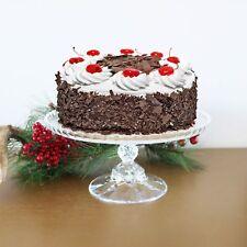 "Vintage 10"" Crystal Cake Stand"