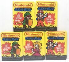 1989 Topps Trading Cards Stickers Nintendo Game Pack 5 Packs 15 Cards 10 Sticker