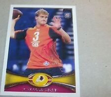 2012 Topps Kirk Cousins #326 Football Card