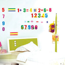 20 Numbers Animals Removable Wall Sticker Home Art Decals Kids Nursery