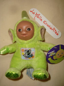 Comforter Plush Toy Teletubbies Dipsy 20 CM With Pencil New