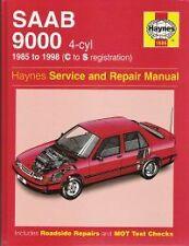 1985-1998 Saab 9000 2.0L 2.3L Turbo Haynes Service Repair Workshop Manual 7640