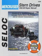MERCRUISER  STERNDRIVE SERVICE REPAIR MANUAL 1992 -2000 SELOC 3206