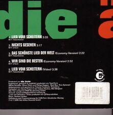 """DIE ÄRZTE """"Lied vom Scheitern"""" 4 Track + 1 Video Maxi CD"""
