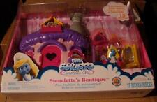 Smurfs Smurfette Boutique chic mushroom house figure 15 part fashion accessories