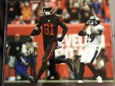 Rashard Higgins Signed 8x10 Photo Cleveland Browns Photo Proof