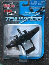Maisto Tonka Tailwinds P-61 Black Widow Die Cast Mtal Aircraft